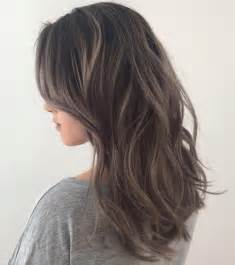 grey highlights in brown hair 40 ideas of gray and silver highlights on brown hair