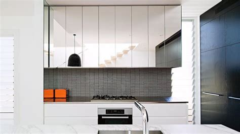 mirrored kitchen cabinets on reflection mirror ideas for every room in the home