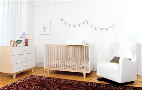 Modern Nursery Decor Giveaway Oeuf Rhea Crib From Modern Nursery