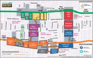 map of canada mall montr 233 al underground city discover restaurants