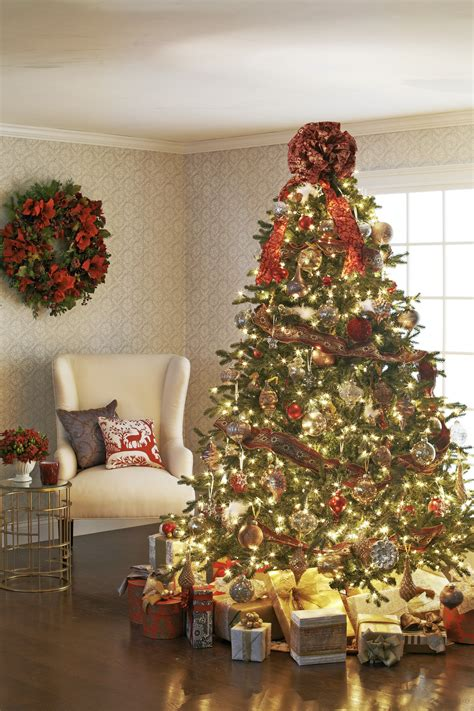 traditional home decoration decorating trees traditional home