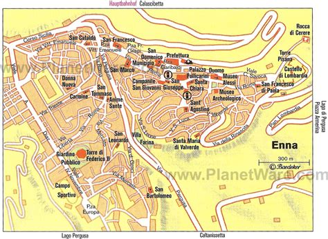 City Floor Plan by 10 Top Rated Tourist Attractions In Enna Planetware