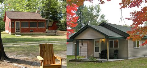 Cabin Resorts In Michigan by Rainbow Resort Cabins And Canoe Livery Northern Michigan