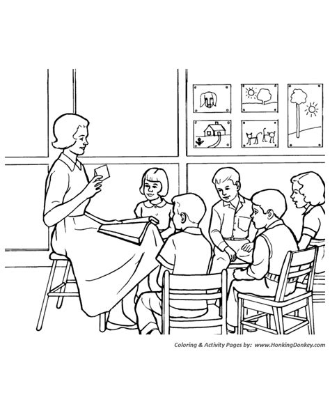 church coloring pages sunday school class sunday