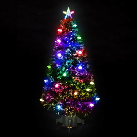 fiber optic christmas tree images