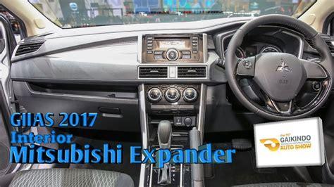 mitsubishi expander giias mitsubishi expander interior giias 2017