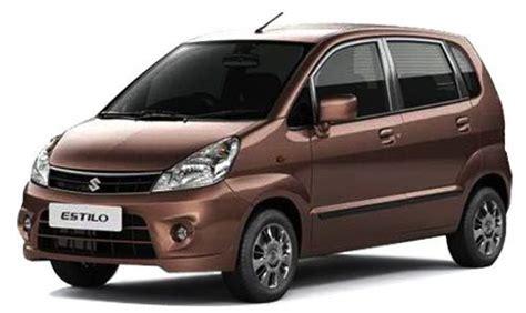 Zen Suzuki Maruti Suzuki Zen Estilo India Price Review Images