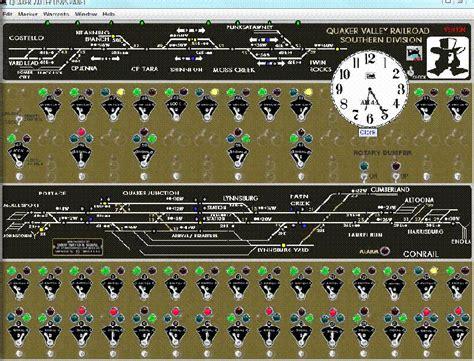using jmri panel pro with nce powercab youtube jmri demo ctc panel