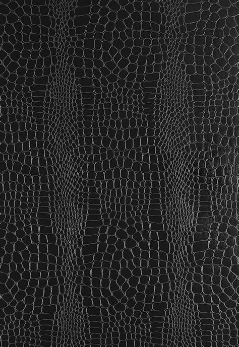black and white embossed wallpaper a traditional crocodile skin pattern is embossed in this
