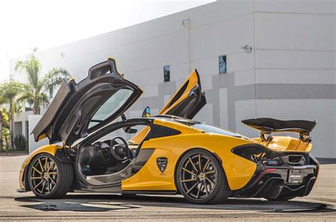 mclaren wheels first mclaren p1 in the us wears giovanna wheels