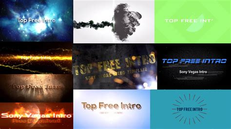 sony vegas template free geeksbackup top 10 free intro templates sony vegas intro template