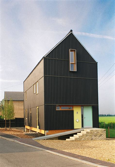 the house is black mole architects the black house mole architects
