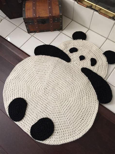panda rug panda rug by peanutbutterdynamite on etsy