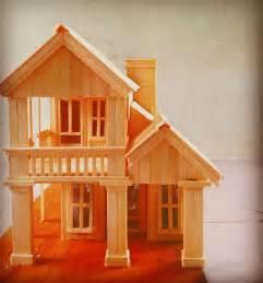 miniatur rumah dari stik es krim yang mudah cahaya rumahku