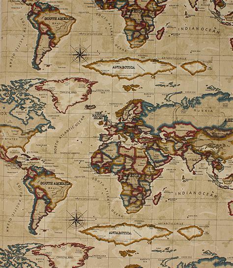 fabric pattern map atlas fabric antique gold just fabrics