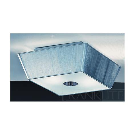 panache fl2072el 2 square flush ceiling pendant 2 light