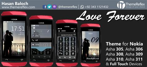 love themes nokia asha 311 love me theme for nokia x2 c2 01 240 215 320 themereflex