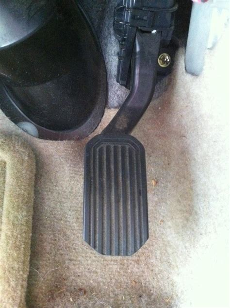 Toyota Gas Pedal Recall Image 2004 Toyota Prius Accelerator Pedal After Being