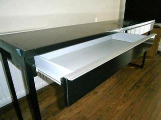 ikea black gloss desk ebay desks and ikea on