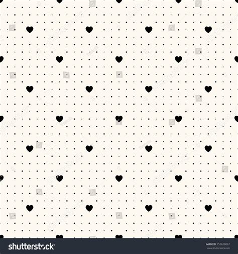 retro polka dot pattern vector by heizel on vectorstock vector seamless retro pattern polka dot with hearts can