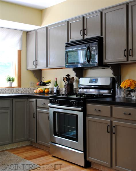 Yellow And Gray Kitchen by Paint Colors In My Home Jenna Burger