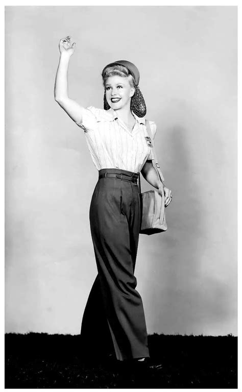 how to wear long hair in your 40s ginger rogers 1940s long hair in a snood pants first