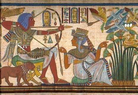 los pjaros el arte el arte en el antiguo egipto la paleta del artista