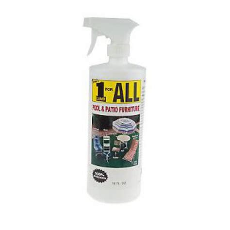 1 For All Pool And Patio Furniture Cleaner 32 Oz Patio Furniture Cleaner