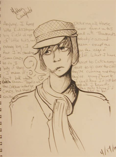 holden caulfield holden caulfield drawing www imgkid com the image kid