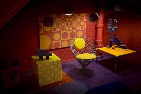 Verner Panton Room by Coloured Rooms The Verner Panton Collector