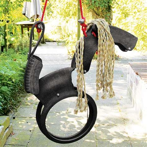 recycled tire horse swing recycled tire horse swing all gifts olive cocoa