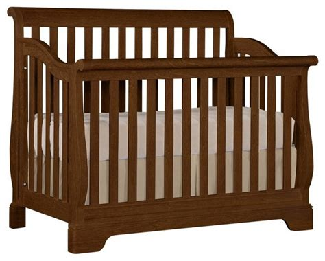 Standard Baby Crib by Built To Grow Sleigh Crib Cherry Standard Finish