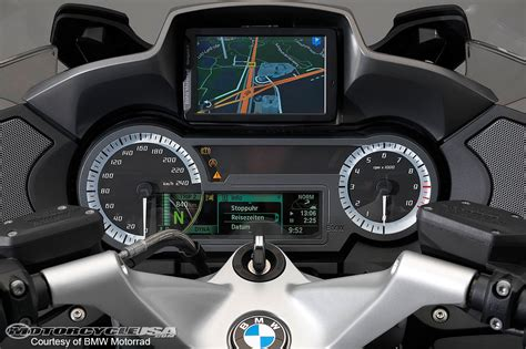 dash for the 2014 bmw r1200rt ride photos motorcycle usa