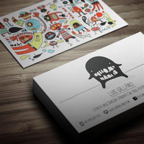 desain kartu nama lucu mau cetak kartu nama ini desain esensi dan templatenya