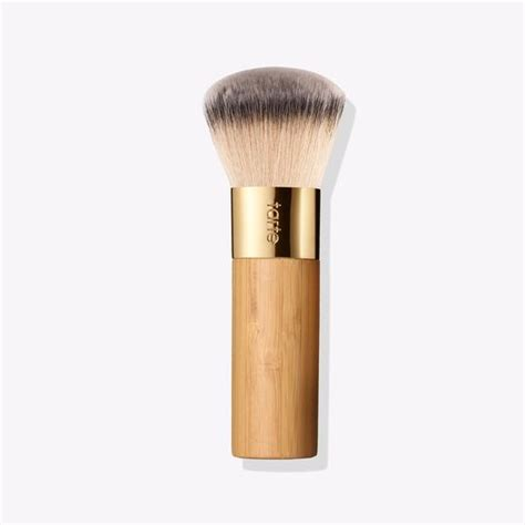 Foundation Make Up Brush airbrush finish bamboo foundation brush tarte cosmetics