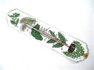outdoor thermometer decorative decorative outdoor thermometer enamel garden by perfectpatina