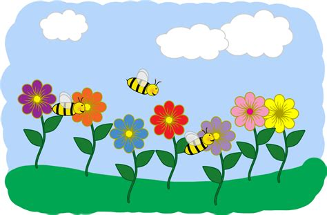 Flower Garden Clipart Flower Garden Clip Cliparts Co