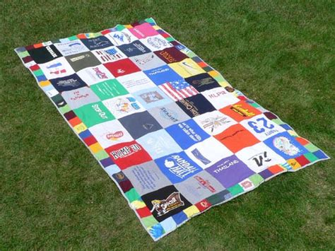 Quilts Out Of T Shirts by T Shirt Quilt Snugasabugbaby