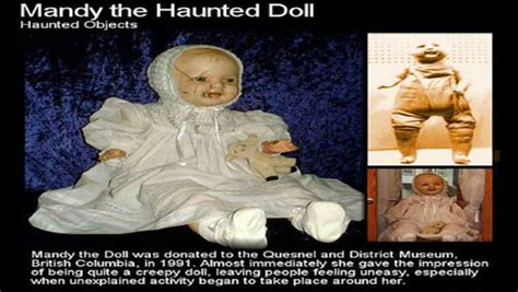 haunted doll in museum haunted doll mandy true story the horror