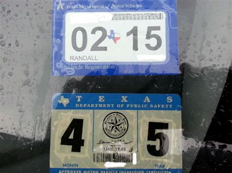 new car inspection sticker to drop one of two safety stickers in march 2015