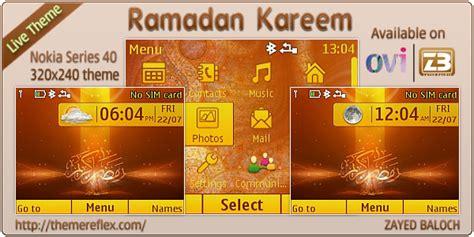 nokia c3 islamic themes ramadan kareem live theme for nokia c3 x2 01 themereflex