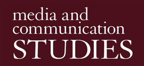 After Mba In Media And Communication by Media And Communication Studies Ursinus College