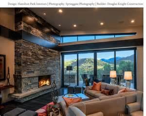 Covered Outdoor Living Spaces - modern mountain design park city interior designers utah home design