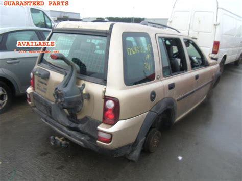 Sparepart Freelander land rover freelander breakers land rover freelander spare car parts