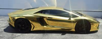 Most Expensive Lamborghini Sold Gold Lamborghini Is World S Most Expensive Model Car