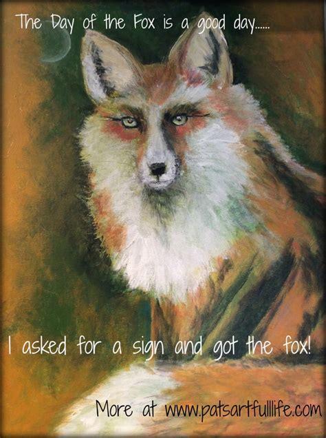 inner spirit animal a fox day is luck pat s