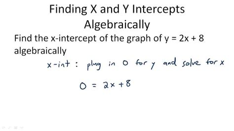 Finding X And Y Intercepts Worksheet by Graph Using Intercepts Algebra Ck 12 Foundation