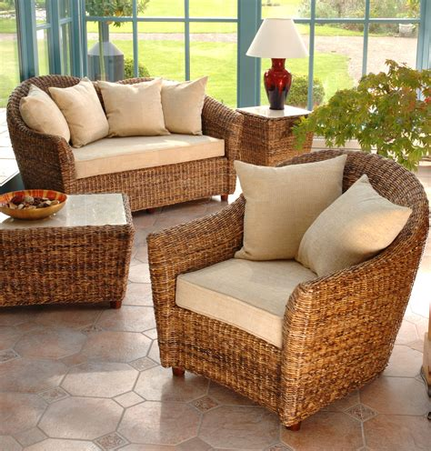 cane conservatory furniture banana leaf furniture cane