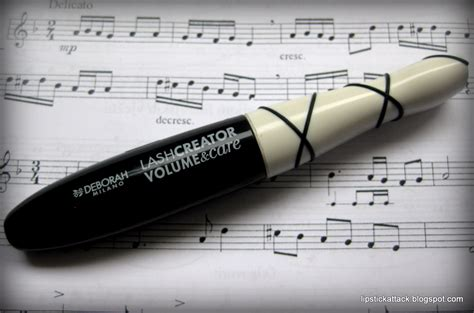 Maskara Caring lipstick attack deborah lash creator volume care maskara