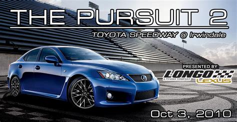 flyers lexus club the pursuit 2 presented by longo lexus october 3rd